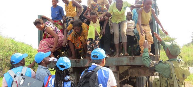 Angola repatria mais de cinco mil refugiados