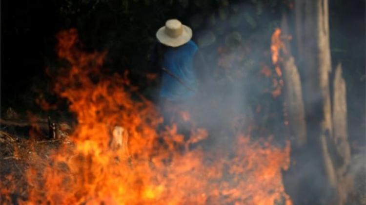 Brasil impõe condições para receber apoio para Amazónia