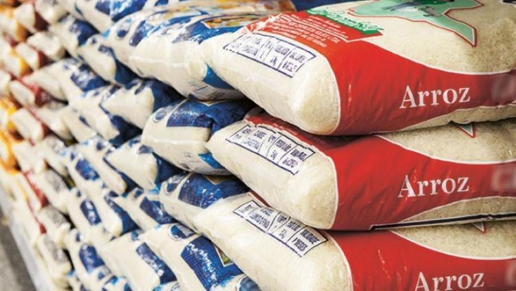 Governo gasta USD 12 milhões com importação de arroz