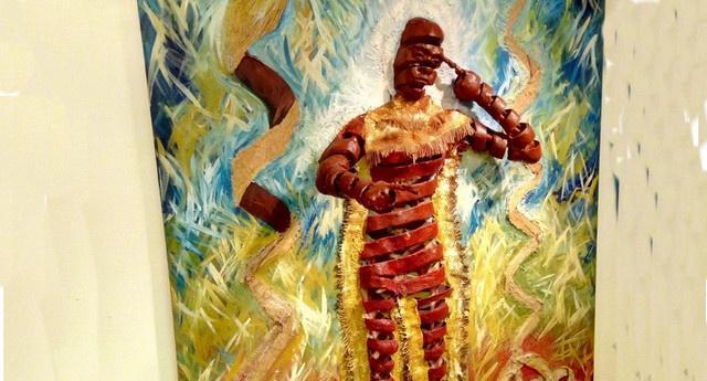 Exposição retrata cultura bantu