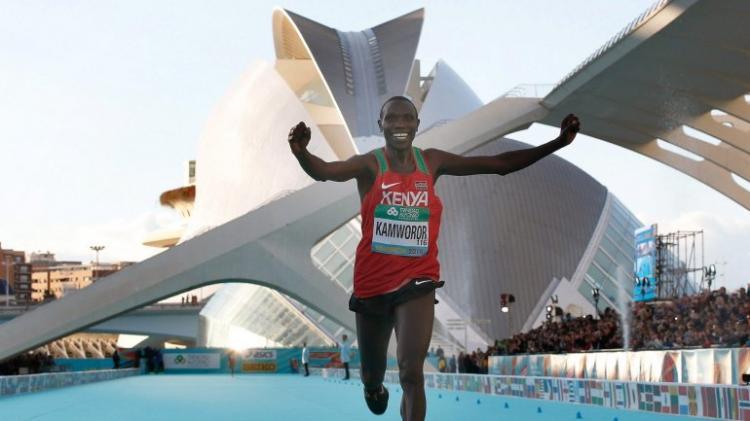 Geoffrey Kamworor estabelece novo recorde