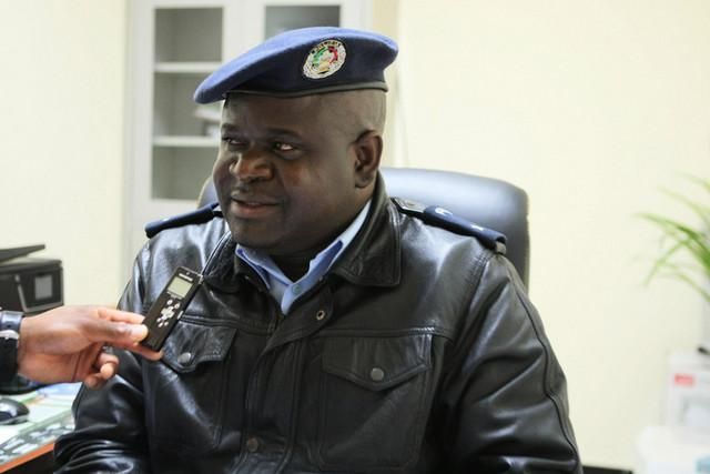 Inspector-chefe Paulo Chindele Cassinda