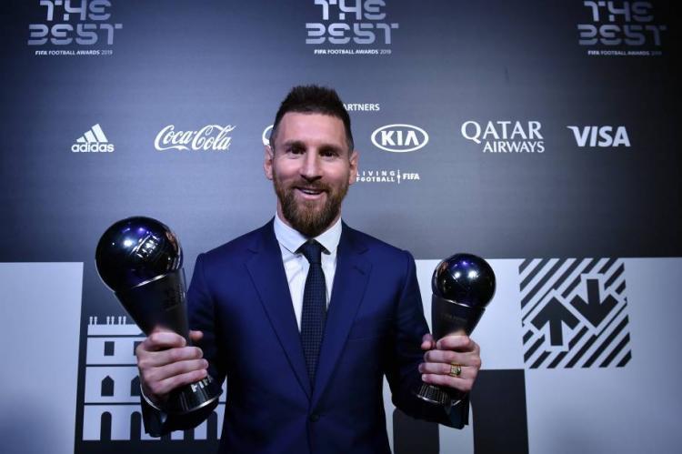 Lionel Messi eleito o melhor jogador do mundo
