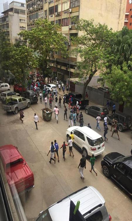 Ex-militares manifestam-se em Luanda