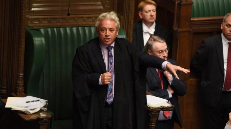 Parlamento britânico despede-se do seu presidente