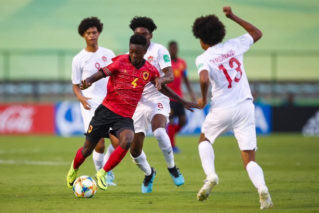Angola e Brasil disputam amanhã 1.º lugar do grupo A