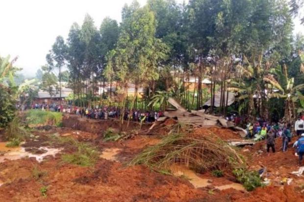 Aumenta para 37 número de mortos em deslizamento de terra