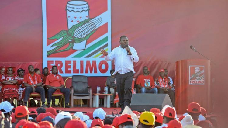 Filipe Nyusi vence em Maputo com 69,23 % dos votos