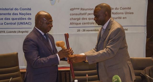 Angola assume presidência da UNSAC