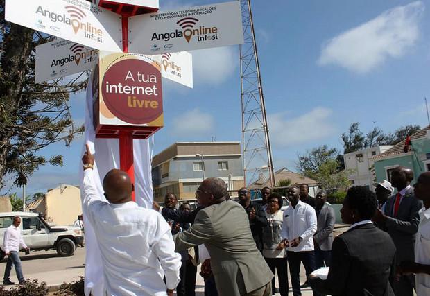 Angola Online proporciona internet grátis a nove mil usuários