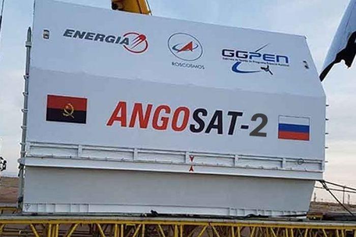 Angosat-2 já está construído a 50 por cento