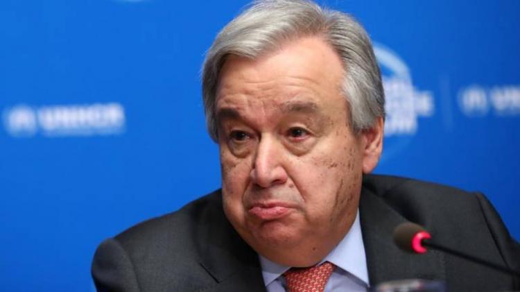 Guterres alerta para o perigo das alterações climáticas
