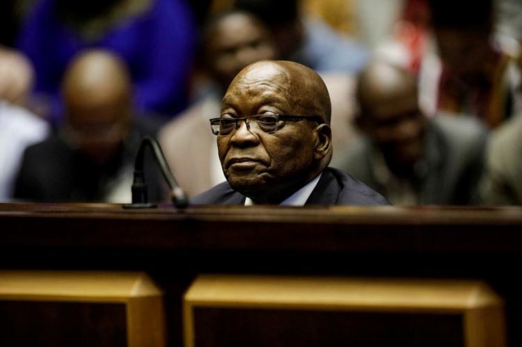 Mandado de prisão para ex-presidente sul-africano Zuma