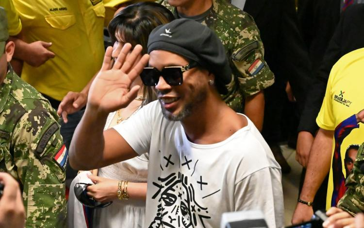 Ronaldinho Gaúcho detido no Paraguai