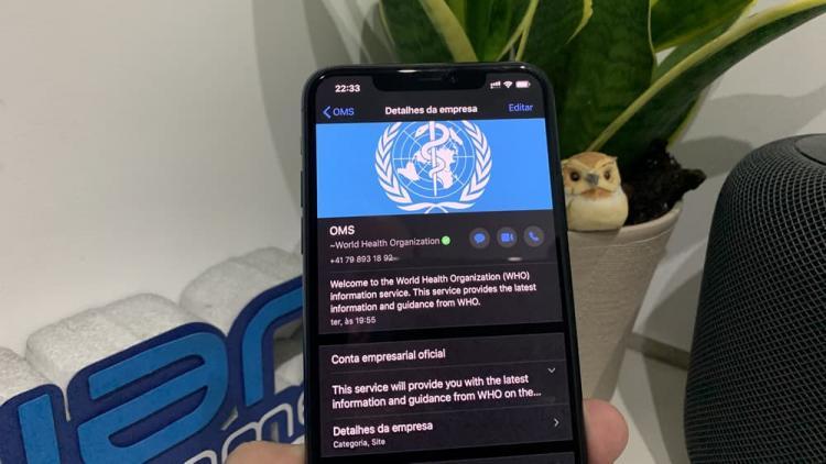 OMS lança serviço de 'chat' para partilhar conselhos