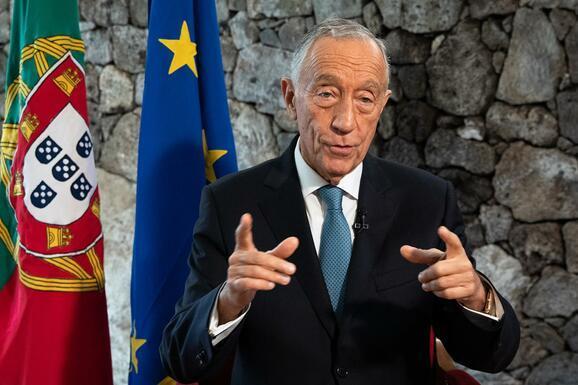 Presidente português em quarentena