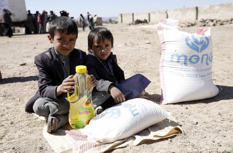 Cerca de 135 milhões de pessoas sofrem de insegurança alimentar aguda