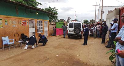 Polícia nega ter matado jovem no Cazenga