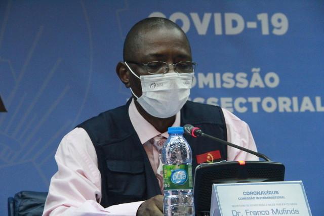 Angola tem 73 casos confirmados