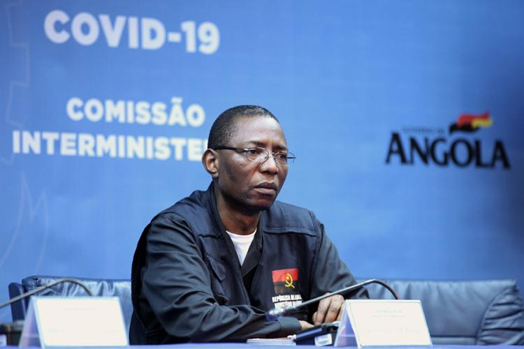 Angola sem casos positivos nas últimas 72 horas