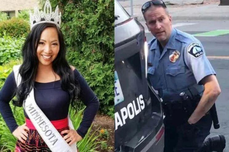 Esposa do polícia que sufocou George Floyd pediu divórcio