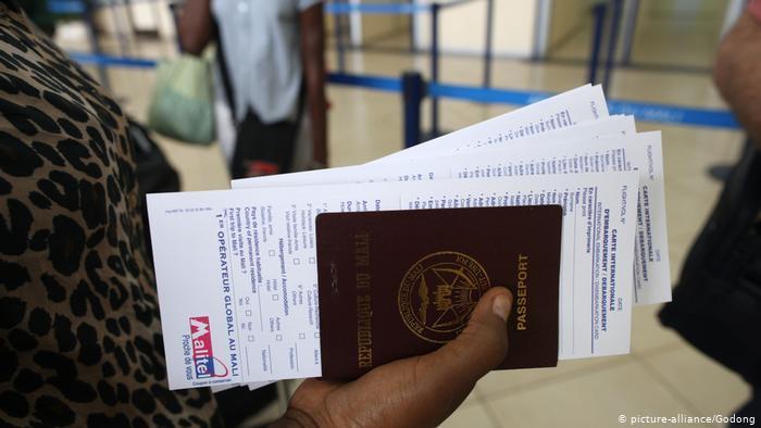Novas regras vão dificultar viagens de africanos à Europa