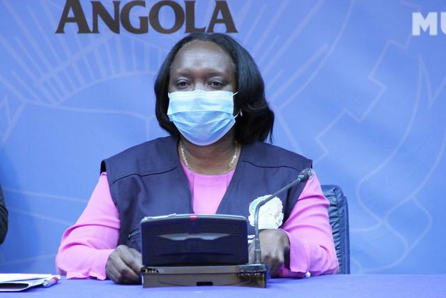 Angola regista cinco novos casos positivos e um óbito