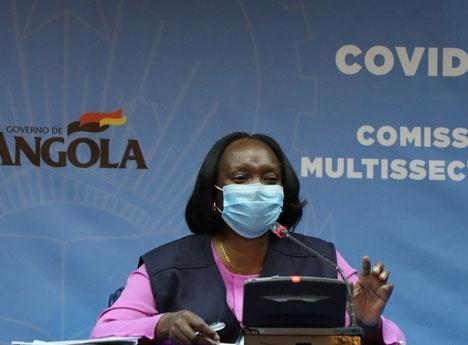 Angola aumenta para 950 casos