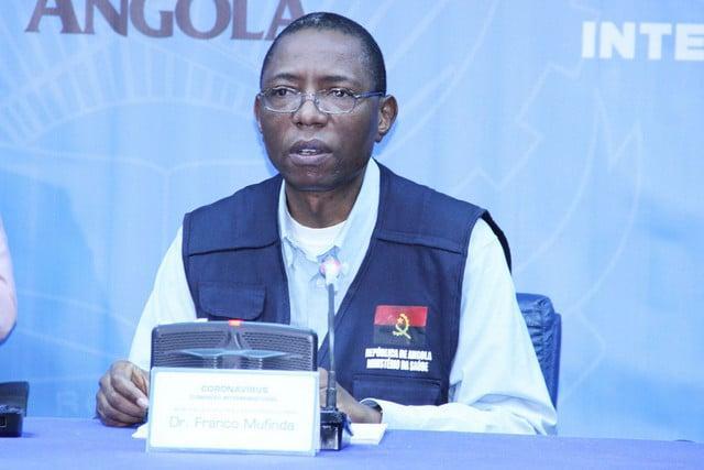 Angola regista mais 100 novos casos e cinco mortes