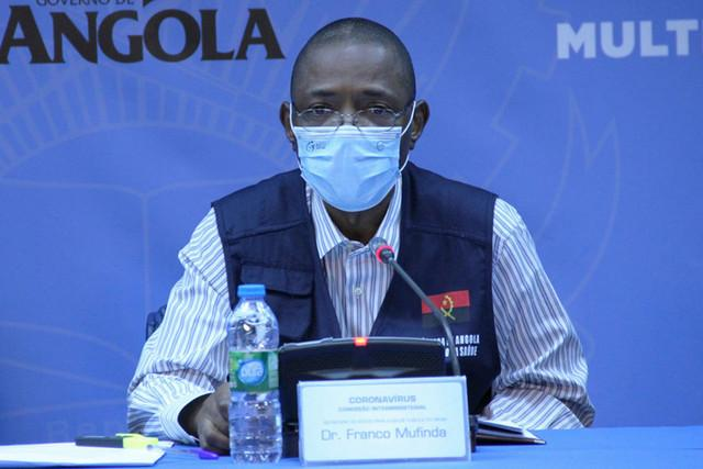 Angola soma mais 53 casos e três óbitos