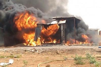 Explosão de granada causa ferimentos em quatro crianças