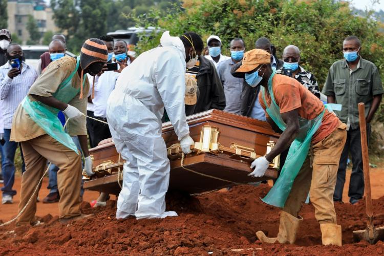 África passa os 35 mil mortos