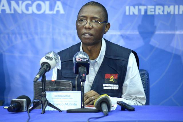 Angola atinge recorde diário de novas infecções