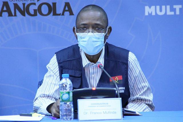Angola com mais 126 infectados e dois óbitos