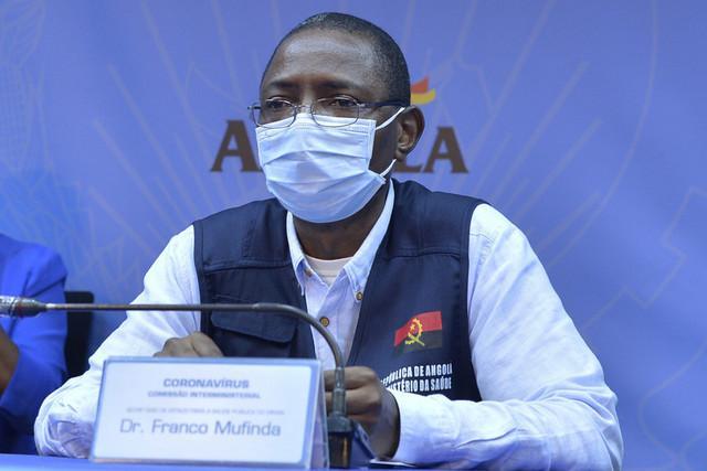 Angola regista mais três mortes e 46 novos casos