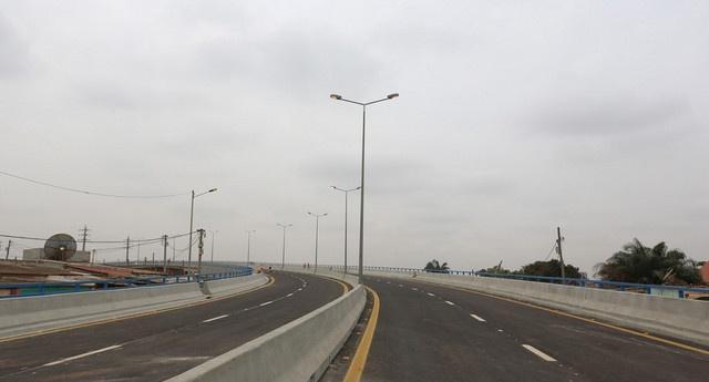 Viaduto do Cazenga inaugurado