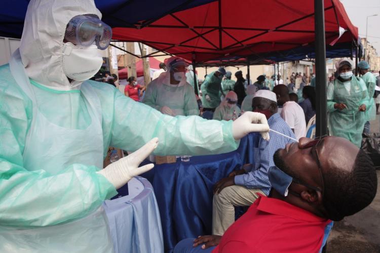 Angola anuncia 120 novas infecções e 27 recuperações