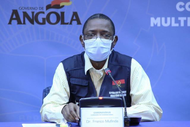 Angola com mais 95 casos e dois óbitos