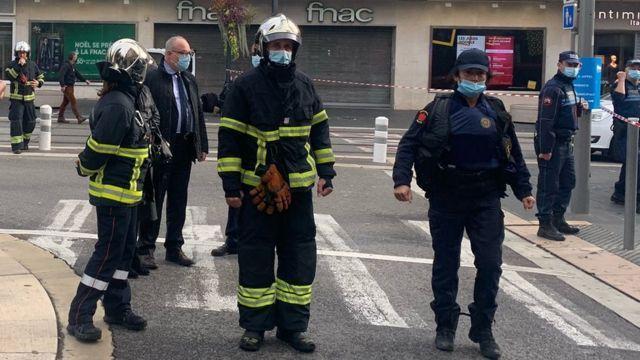Ataque em Nice causa três mortes