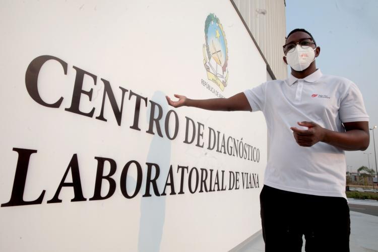 Jovem angolano lidera laboratórios de diagnóstico da covid-19