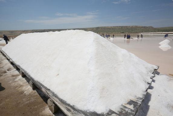 Produção de sal pode atingir 130 mil toneladas