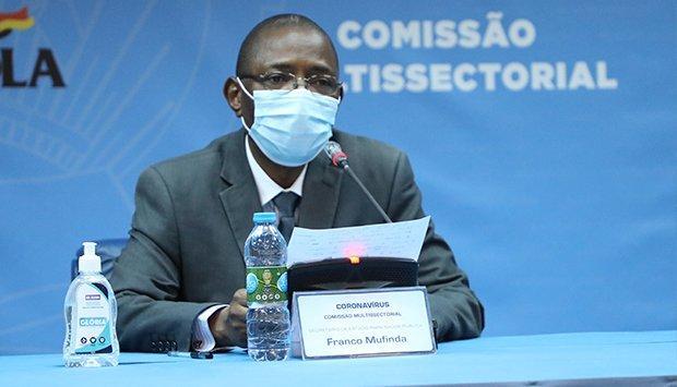 Angola com mais 212 infecções