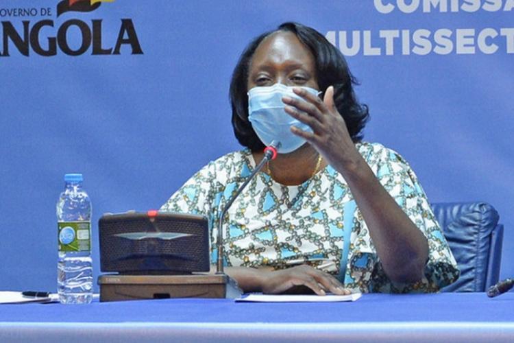 Angola com mais 129 casos e uma morte