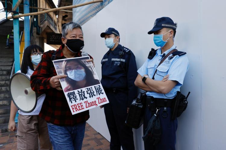 Condenada jornalista que reportou surto em wuhan