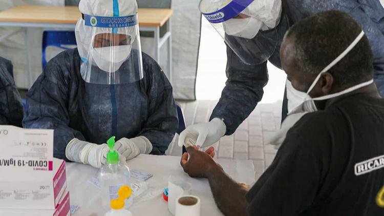 África com mais 682 mortes e 21.548 casos