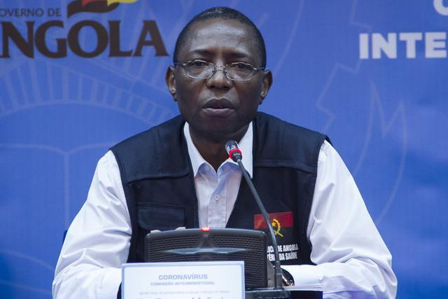 Angola anuncia mais 77 casos