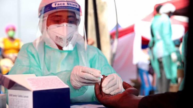 Angola regista oito novos casos, uma morte e cinco recuperações