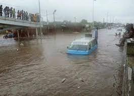 Chuva causa cinco mortos e dois desaparecidos