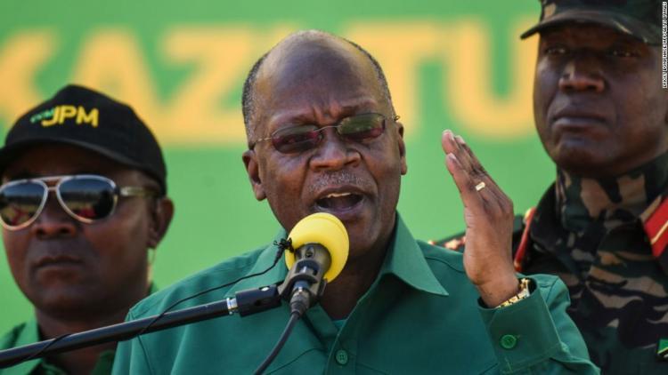 Morreu John Magufuli, presidente da Tanzânia