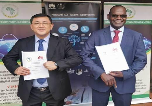 Intensificação da Tranformação Digital em África com o acordo firmado entre a Huawei e a União Africana de Telecomunicações